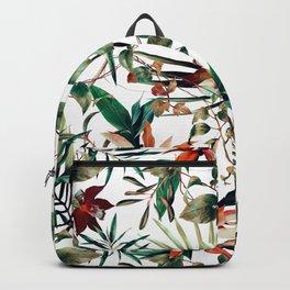 Pattern botanical exotic - 03 Backpack