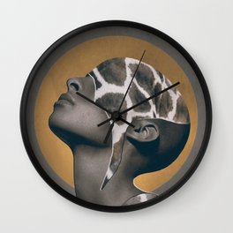 African Beauty Wall Clock