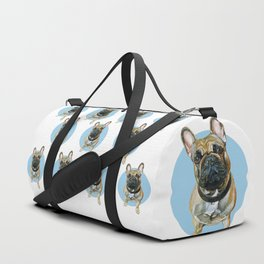 French Bulldog blue spot. Duffle Bag