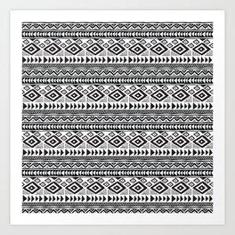 mudcloth no. 1 Art Print