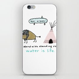 water is life. iPhone Skin