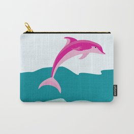 Dolphin theme art Carry-All Pouch