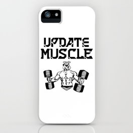 Update muscle iPhone Case
