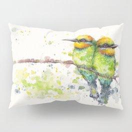 Family (Rainbow Bee Eaters) Pillow Sham