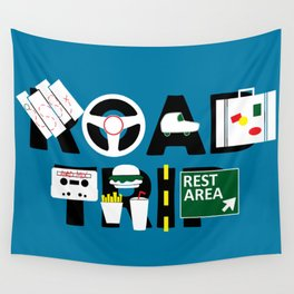 Road Trip Wall Tapestry