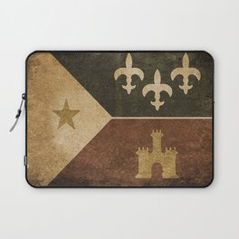 Acadian Flag Laptop Sleeve