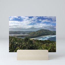 Sandymount, Otago Peninsula Mini Art Print