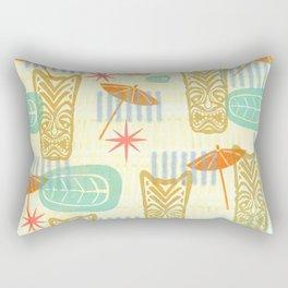 TIKI On The Beach Rectangular Pillow
