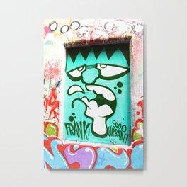 FRANKenstein - Graffiti - Street Art Metal Print