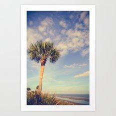 Palm Tree Paradise Art Print