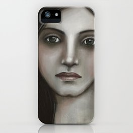 Thoughtful 3 iPhone Case