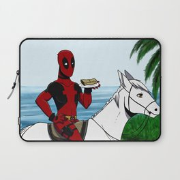 Look at this chimichanga Laptop Sleeve