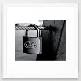 Love Locks 2012 37 Framed Art Print