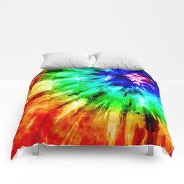 Tie Dye Meets Watercolor Comforters