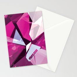Pink Quartz Royal Stain Stationery Cards