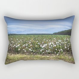 Cotton Fields  Rectangular Pillow