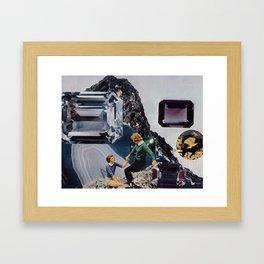 Gem Mountian Framed Art Print