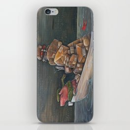 Red Letter iPhone Skin