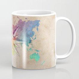 world map wind rose 1 #worldmap #map Coffee Mug