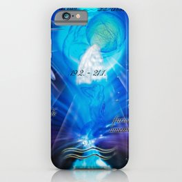 Zodiac sign Aquarius  Happy Birthday 4 iPhone Case