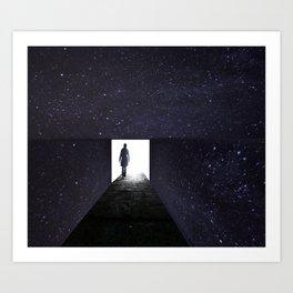 Stars Way To Heaven Art Print