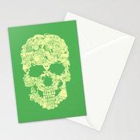 Clip Art Skull Stationery Cards