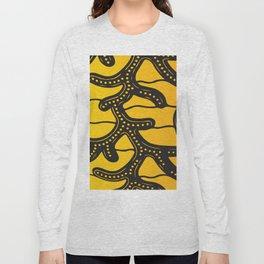 African Tribal Pattern No. 83 Long Sleeve T-shirt