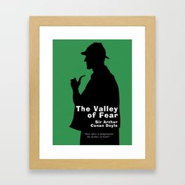The Valley of Fear - Sherlock Holmes Framed Art Print