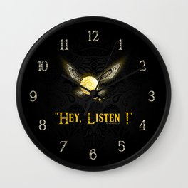 Hey Listen ! Wall Clock