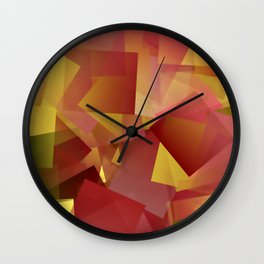 Golden October ... Wall Clock