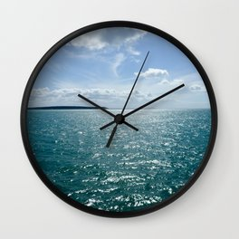 Hervey Bay- Queensland Australia Wall Clock