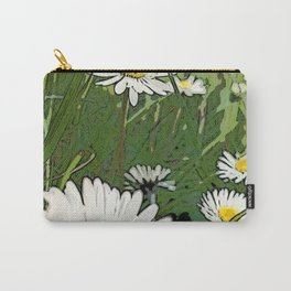 SIMPLE DAISIES IN MY BACKYARD Carry-All Pouch