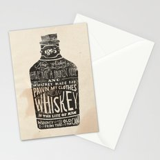 Whiskey Stationery Cards