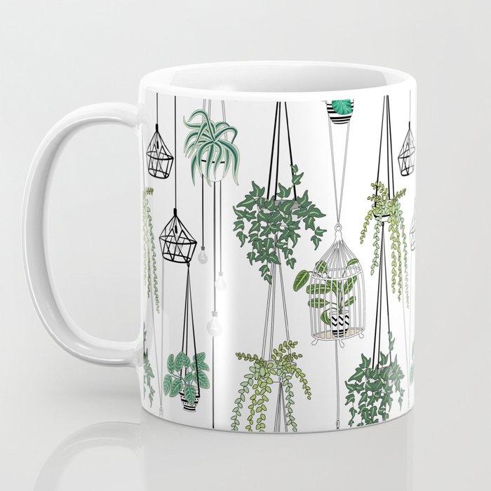 hanging pots pattern Coffee Mug