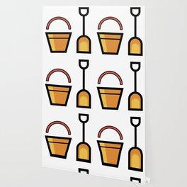 Sand Shovel And Bucket Cute Gift Idea Wallpaper