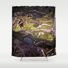 Roots of Love Shower Curtain
