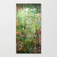 meditation Canvas Prints featuring Meditation by Michael Hammond