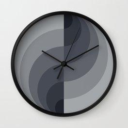Marble Gray Globe LT Wall Clock