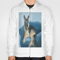 German Shepherd Angus Hoody