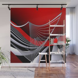 experiments on geometry -11- Wall Mural