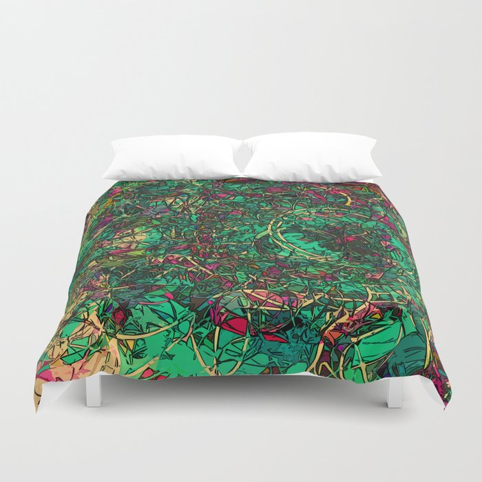Galactic Dawn Duvet Cover