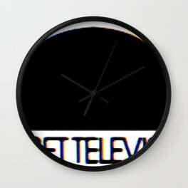 Sunset Television Logo Wall Clock
