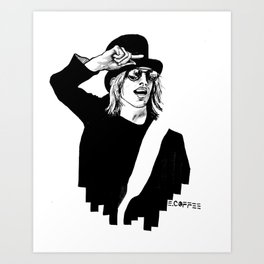 Tom Petty Art Print