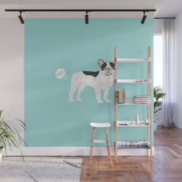 French Bulldog funny fart dog breed gifts frenchie must haves Wall Mural
