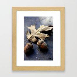 Under the oak Framed Art Print