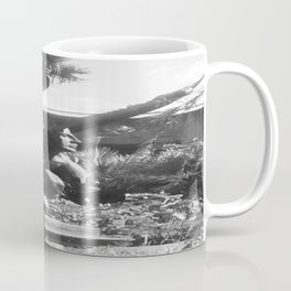 """The """"Wings of the City"""" sculpture exhibit by Mexican Artist Jorge Marín 2 Coffee Mug"""