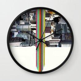 The Invisible Cities (dedicated to Italo Calvino) Wall Clock