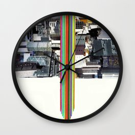 The Invisible Cities (dedicated to Italo Calvino) Wall Clock