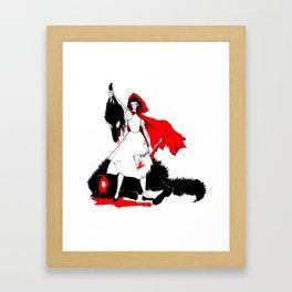 Little Red Riding Hood [2] Framed Art Print