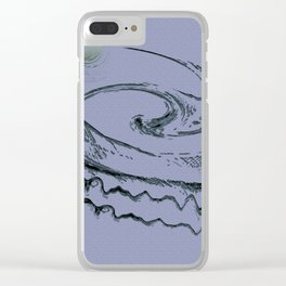 at the heart of the turmoil Clear iPhone Case
